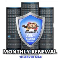 ASL for Reverse Proxies: 10 Server Maximum  (Monthly)