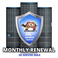 ASL for Reverse Proxies: 50 Server Maximum  (Monthly)