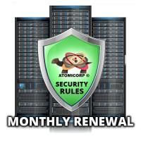 Advanced ModSecurity Rules by Atomicorp  (Monthly)