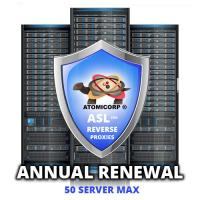 ASL for Reverse Proxies: 50 Server Maximum  (Annual)
