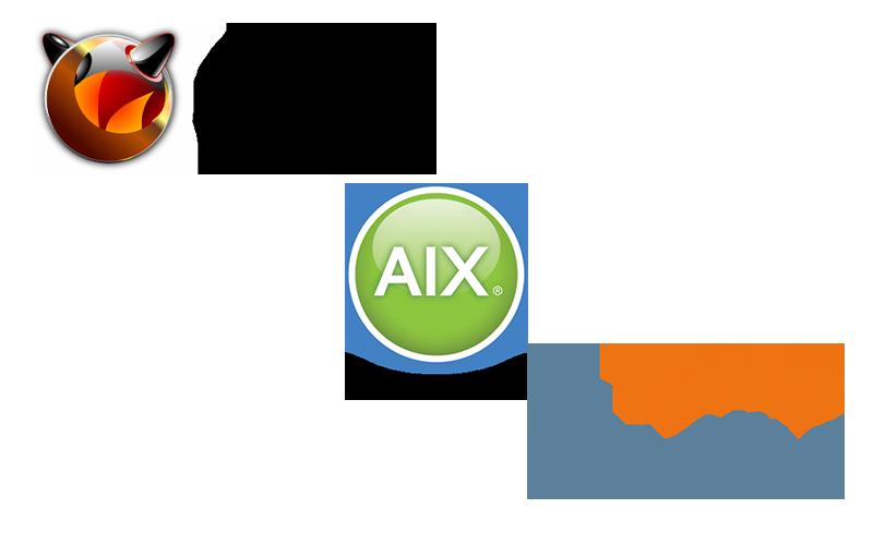 BSD, AIX, Solaris